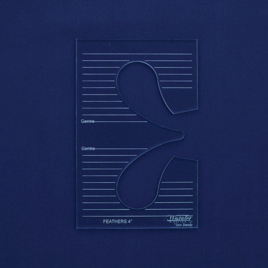 Westalee Feather Template - Low Shank