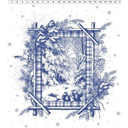 A Winter's Tale - White Metallic