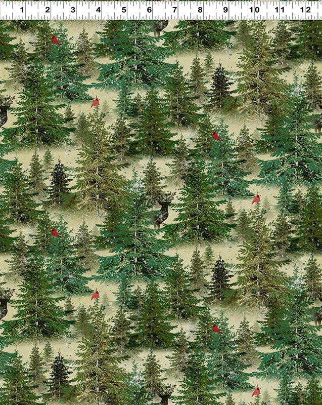 Let Nature Sing - Digital Forest - Dark Butter