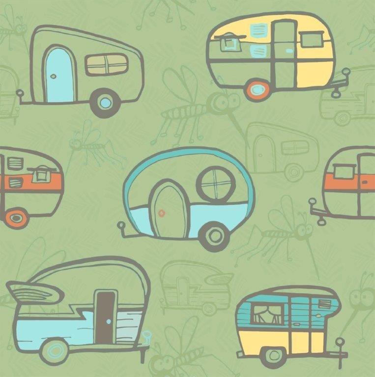 Campers - Light Olive (Y1992-23)