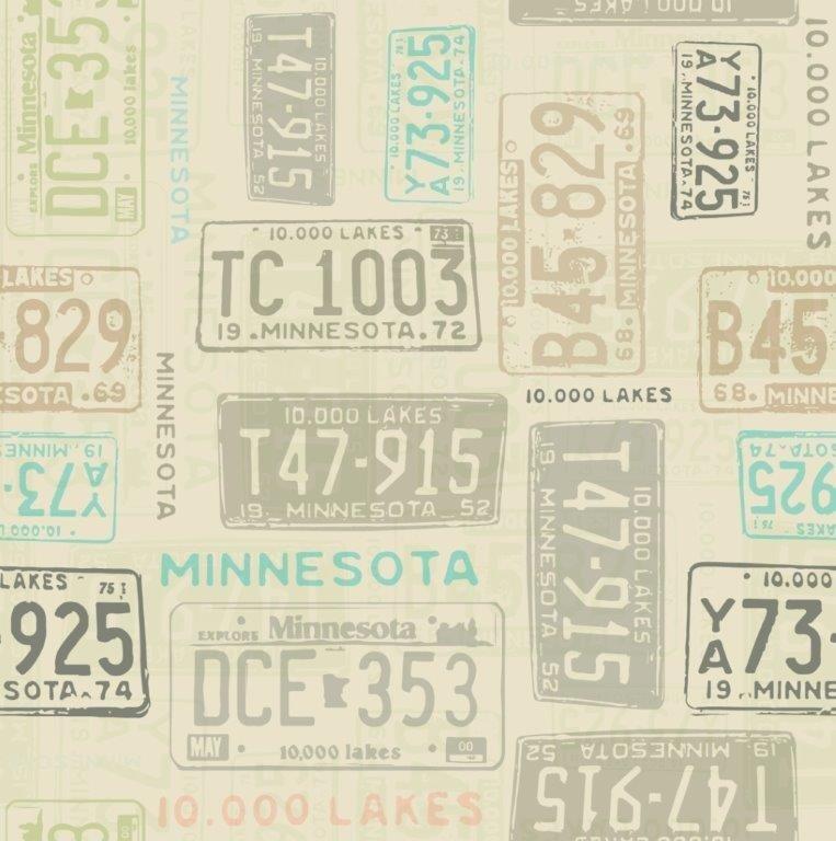 License Plate - Khaki (Y1983-12)