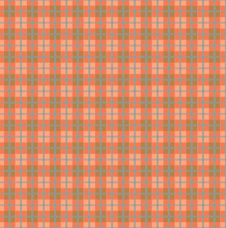 Plaid - Orange (Y1986-36)