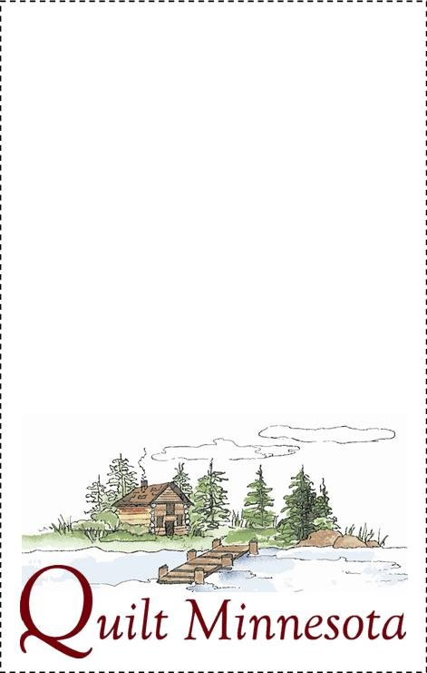 2015 Quilt Label, Cabin