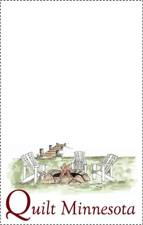 2015 Quilt Label, Campfire