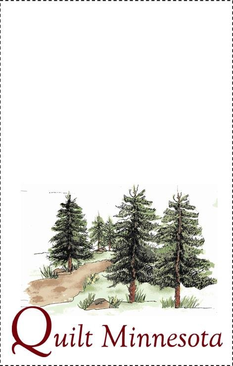 2015 Quilt Label, Hiking Trail