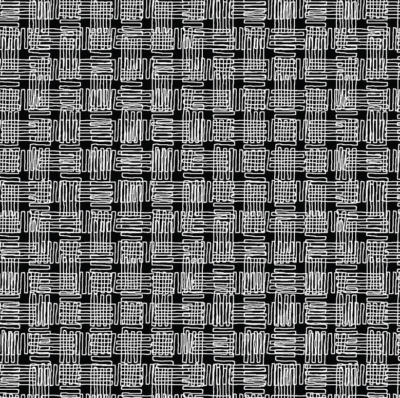 Plaid, black (Y1724-3)