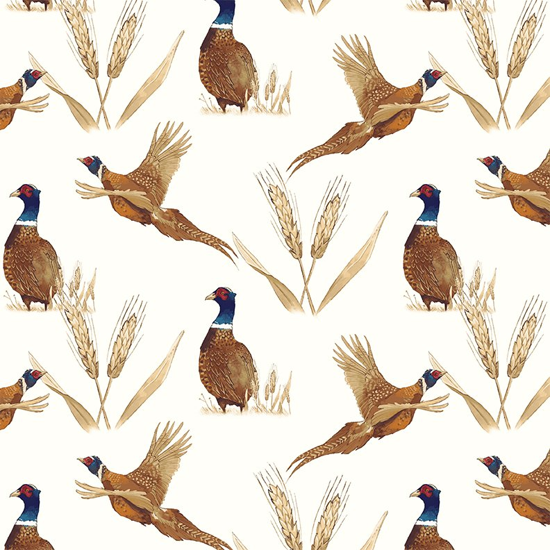 Pheasant Light Cream (Y2195-2)