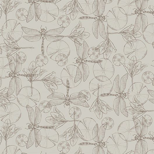 Dragonflies Taupe (Y2196-62)