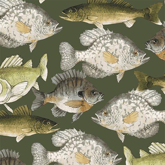 Fish Dark Khaki (Y2199-13)