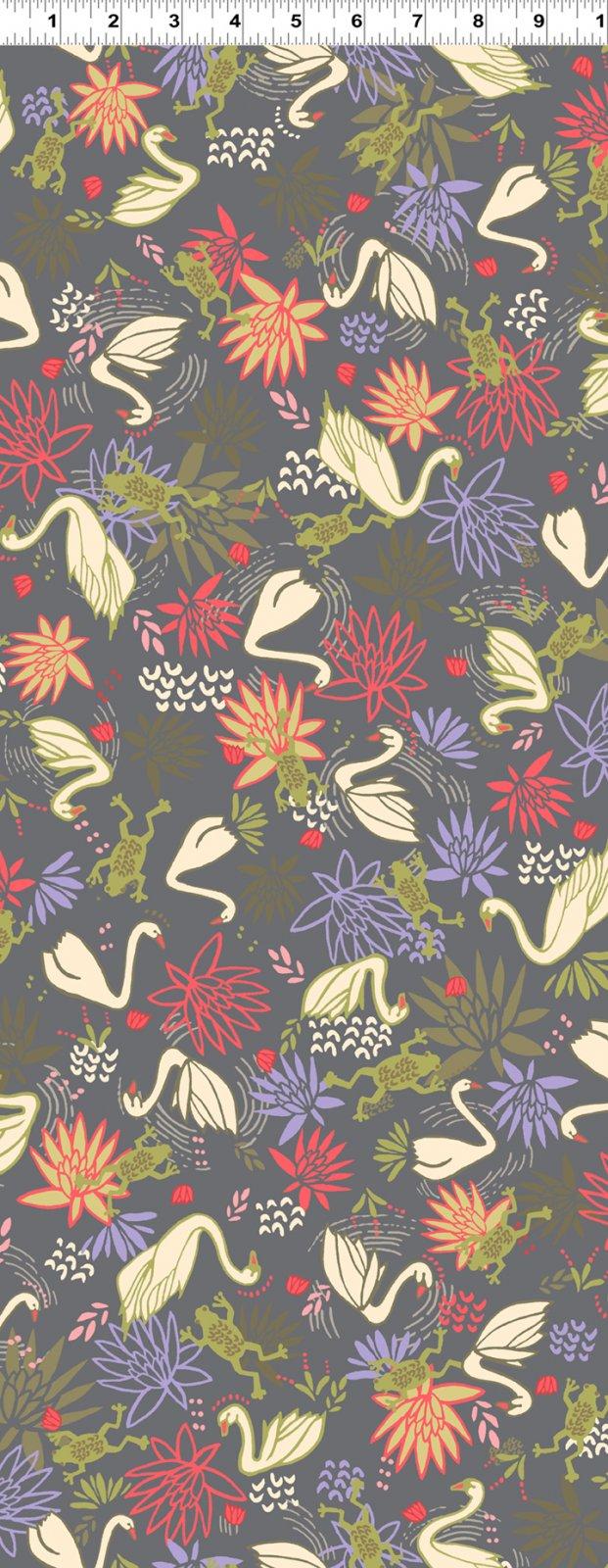 Swans Light Dark Gray (Y2441-7)
