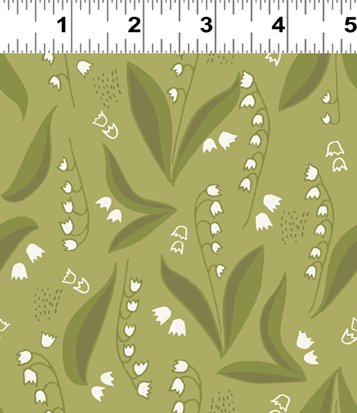 Lilly of the Valley Dark Olive (Y2445-25)