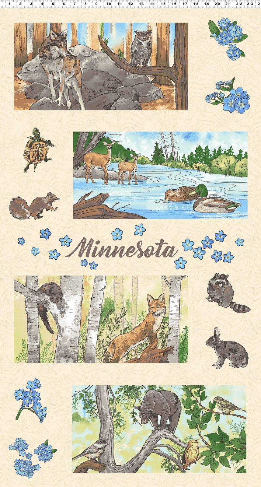 Quilt Minnesota 2019 Panels 16 x 8 (Y2740-64)