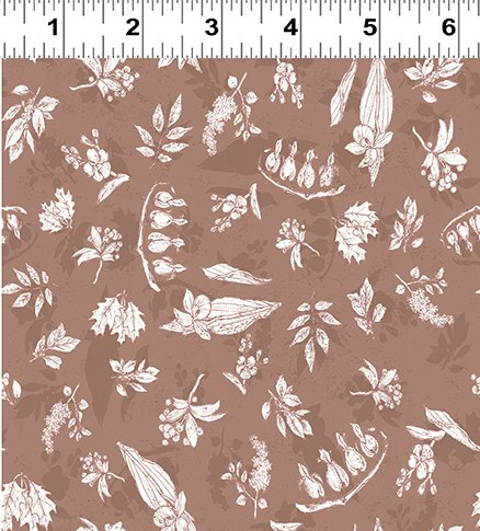 Quilt Minnesota 2019 Flora Dark Caramel (Y2749-66)