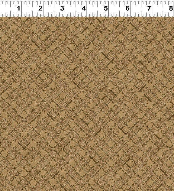 Quilt Minnesota 2020 Diagonal Plaid Caramel (Y3024-65)