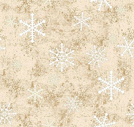 Quilt Minnesota 2021 Snowflakes Light Caramel Y3321-64
