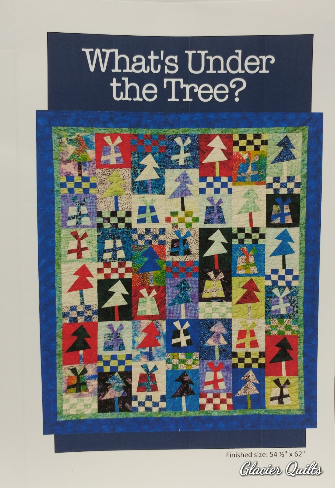 What's Under the Tree? 54.5 x 62