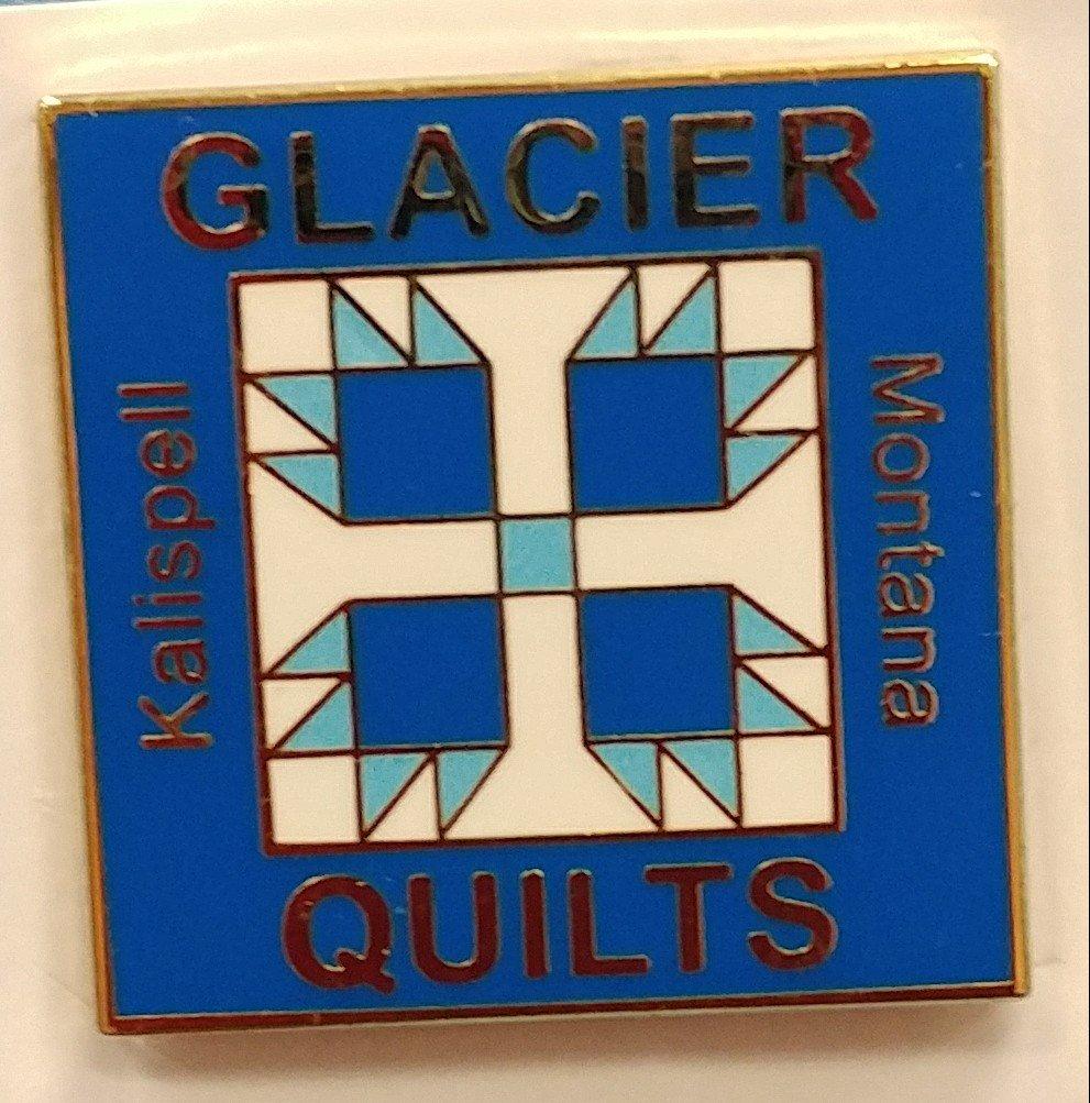 Glacier Quilts Pin