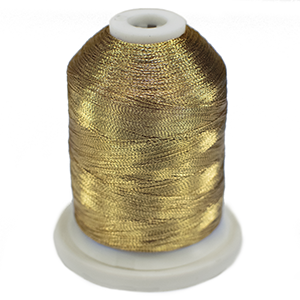 Robison Anton Metallic Embroidery Thread 40wt 1001 Government Gold 1000yds