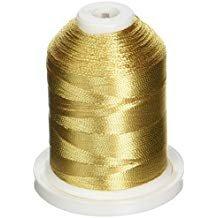 Robison Anton Metallic Embroidery Thread 40wt 1003 Gold 1000yds