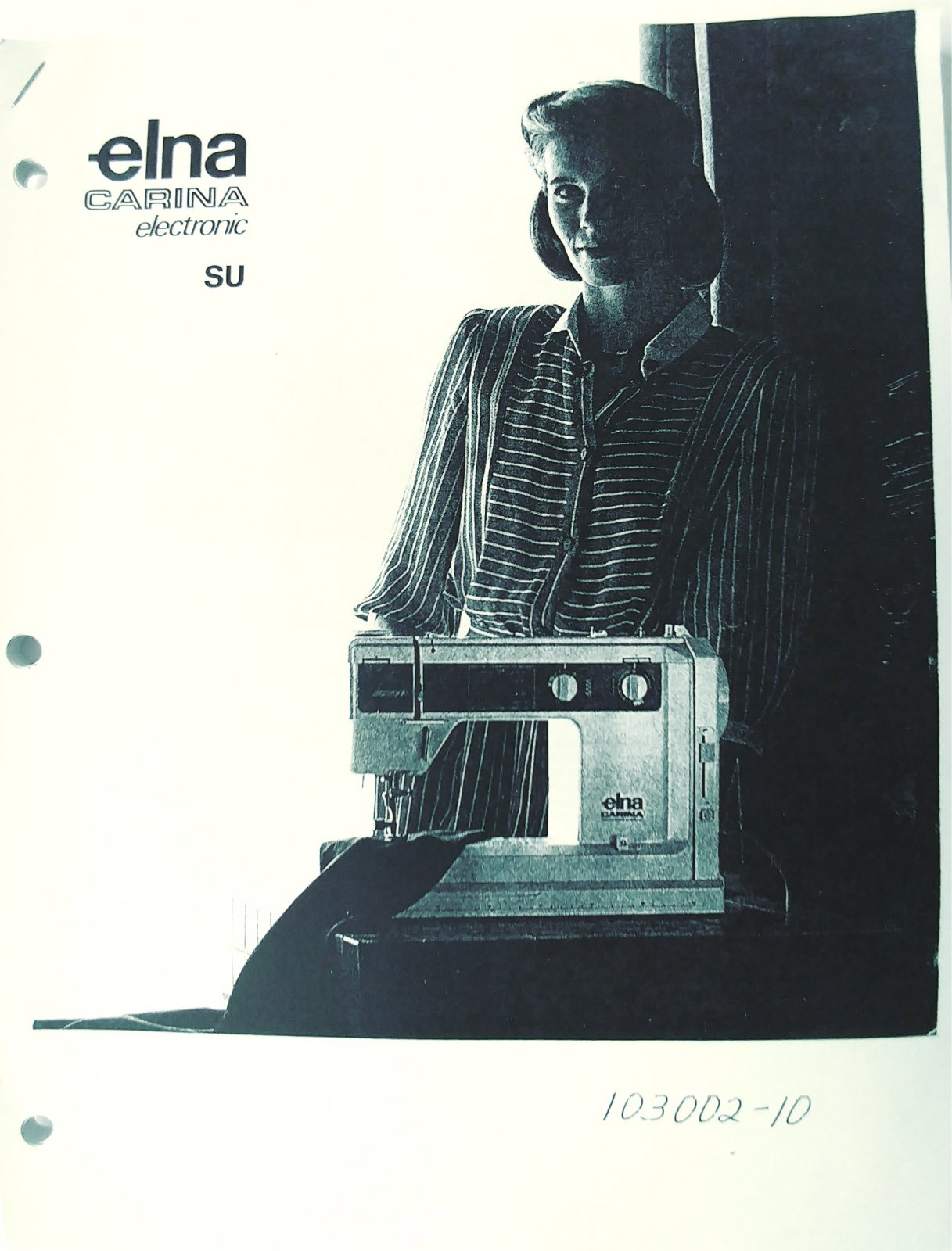 Instruction Manual and Sewing Guide Elna SU Carina Electronic 65 66