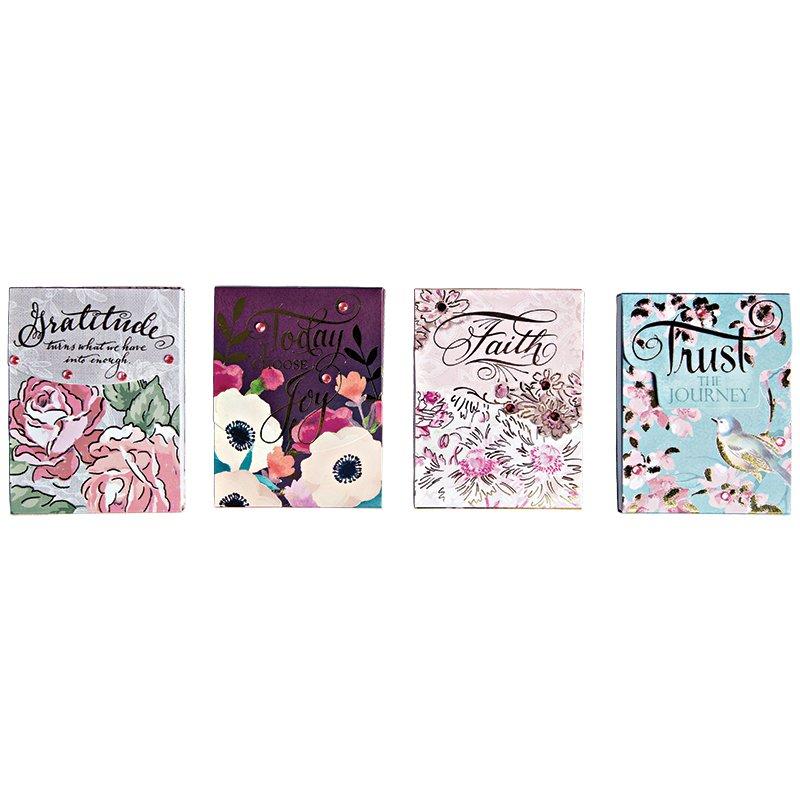 Pocket Notepad - 3 x 4 notepads, 75 sheets per pad - Joy & Gratitude