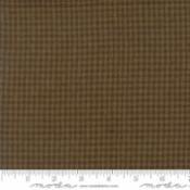 Cottonworks Houndstooth Brown 12813 16