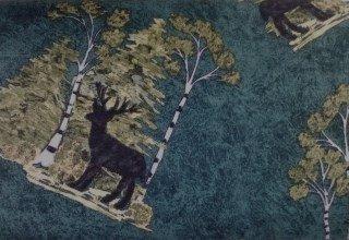 Rustic Retreat Flannel 1830-3