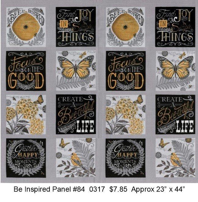 Bee Inspired Panel #84 Pebble Grey 19790 12