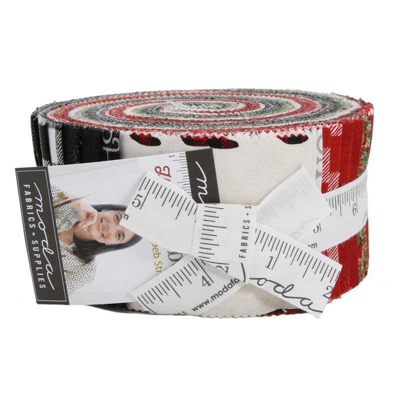 Holiday Lodge Jelly Roll 19890JR - 40pcs 2.5 Strips