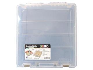 ArtBin One Cpompartment Super Satchel Box Translucent 6955AB
