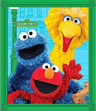 Elmo & Friends 24712 X Panel 120