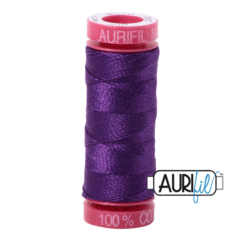 Aurifil Cotton Thread Mako 12wt  2545 Medium Purple 50m/54yds