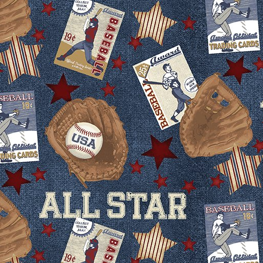 Play Ball - All Star Blue 2604 55