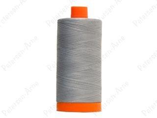 Aurifil Cotton Thread Mako 50wt 2610 Light Blue Grey 1300m