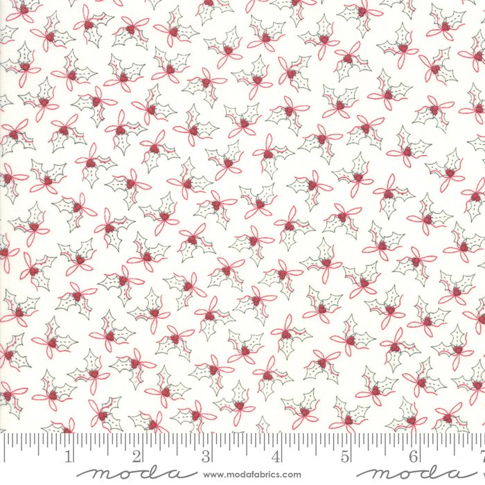 Country Christmas - Holly 2966 11 Winter White
