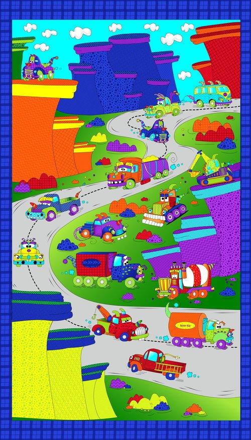 Monster Trucks - On The Road 3027 01 Panel #6