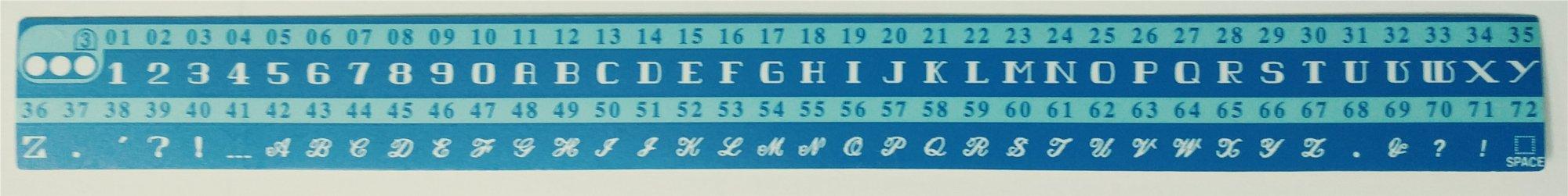 Chart Board 2 Elna 6005 (395738-21)