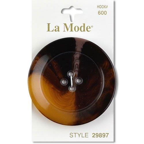 Brown 2 (50MM) Button