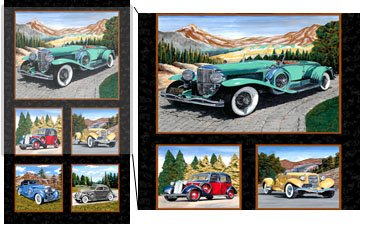 Classic Cars Panel #223