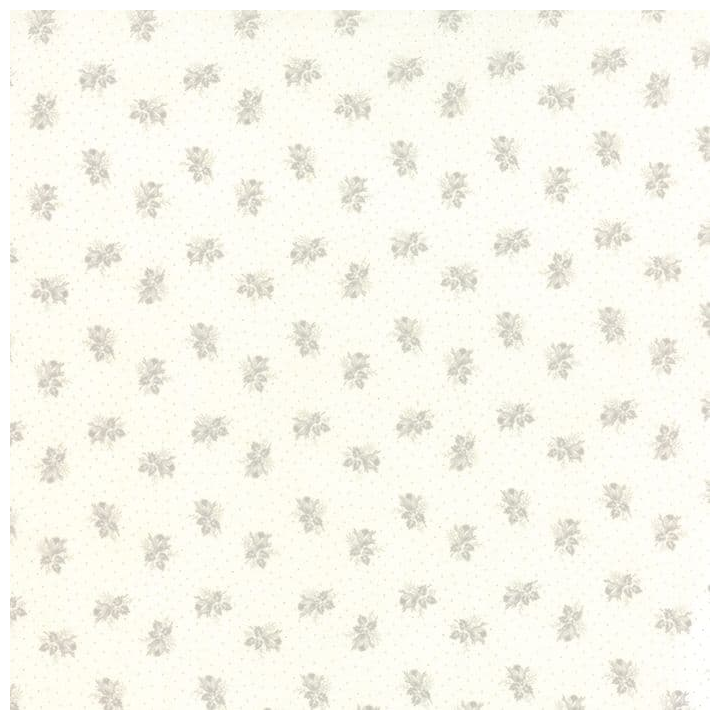 Whitewashed Cottage - Small Floral 44068 21 Linen Gray