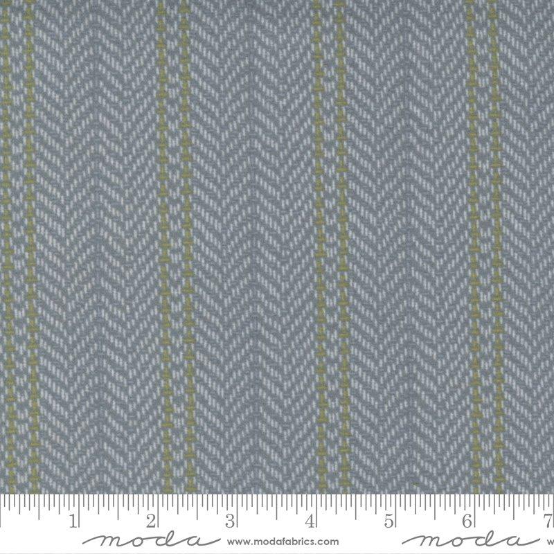Yuletide Gatherings Flannels - Herringbone Stripe Blender 49141 16F Sleigh