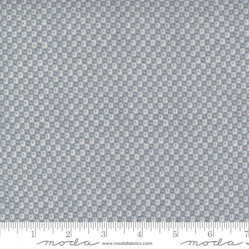 Yuletide Gatherings Flannels - Honeycomb Blender 49142 17F Smoke Grey
