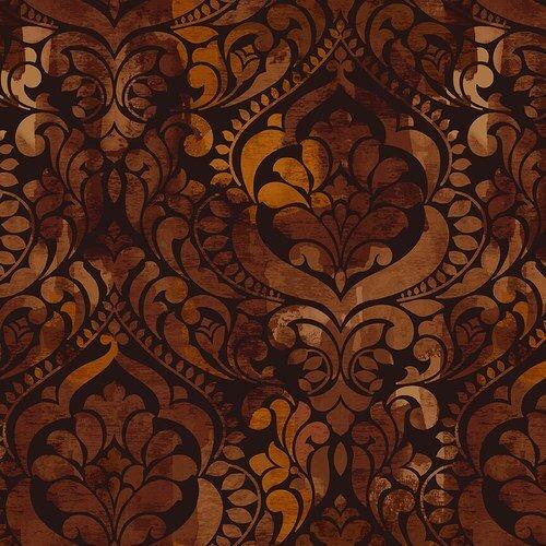 Fiorenza Quilt Back 108 - 5236 38 Chocolate