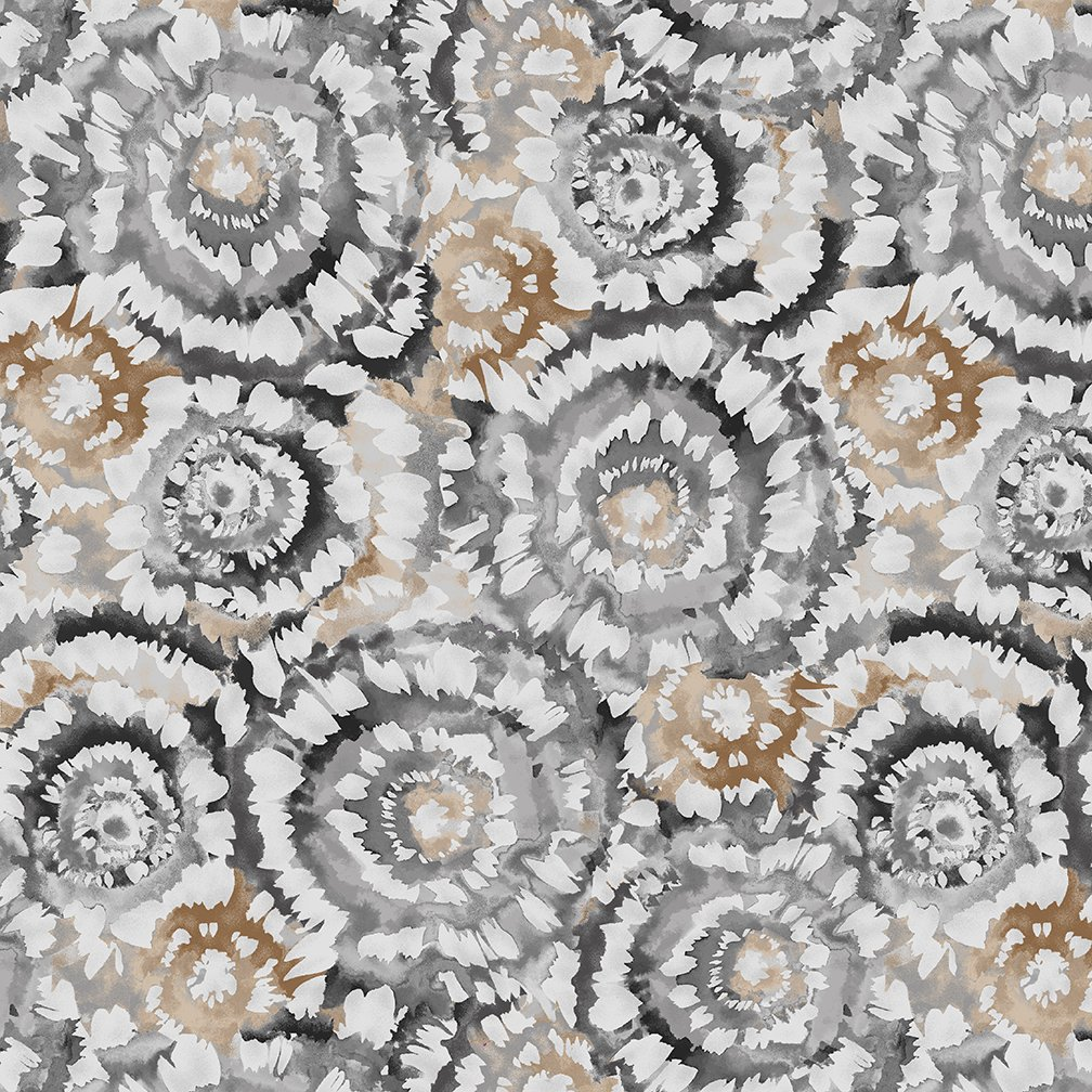 Spin Art Quilt Back 108 - 5401 93 Stone