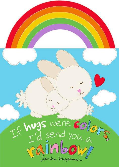 Huggable & Lovable IX Rainbow Hugs Book Panel #B5 - 5530P 1
