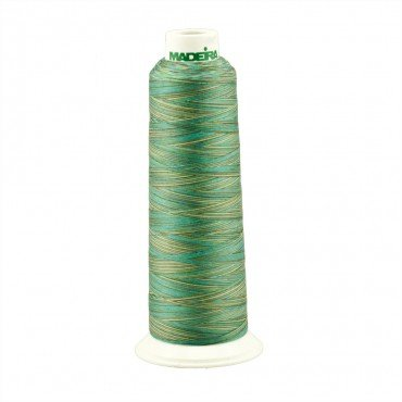Madeira Poly AeroQuilt 40wt Variegated 9608 Jungle 3000yds