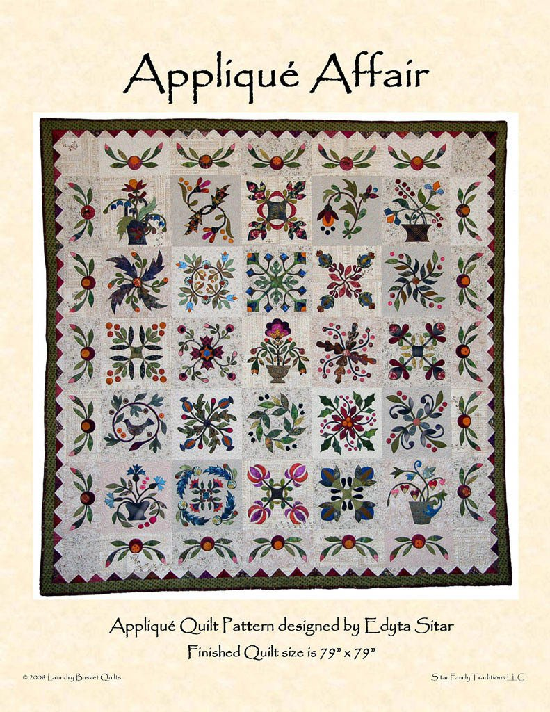 Applique Affair Pattern LBQ AA01 P