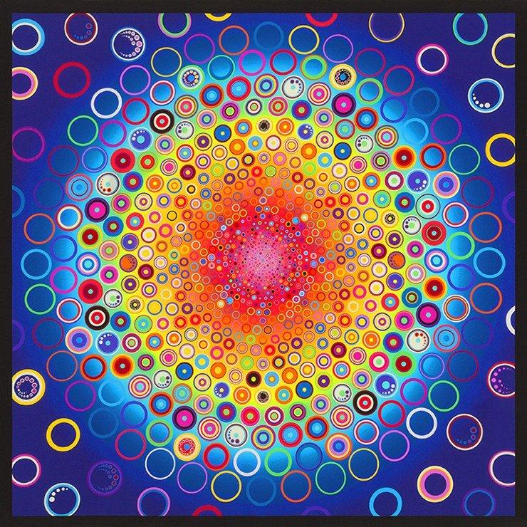 Effervescence Digital Rainbow Panel #168 AAQD 18161 263