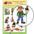 ADC-205 Charismatic Scarecrows Embroidery CD