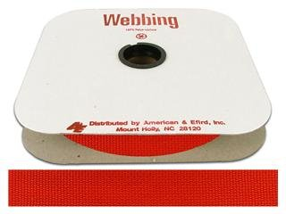 Webbing Poly 1 Hot Red